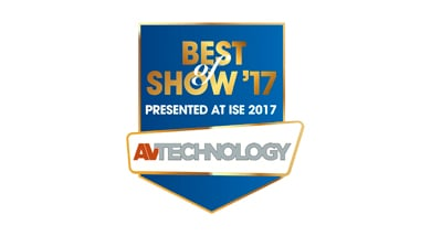 Kramer Video Content Overlay (VCO) Wins ISE 2017 Best of Show Award