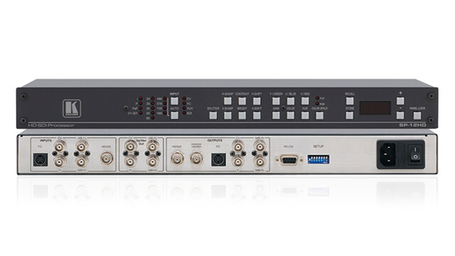 PAL/SECAM/NTSC Video in analog or SDI format