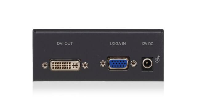 RGBHV analog computer video on a 15-pin VGA connector