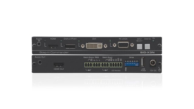 External input modules that can switch the inputs of switchers