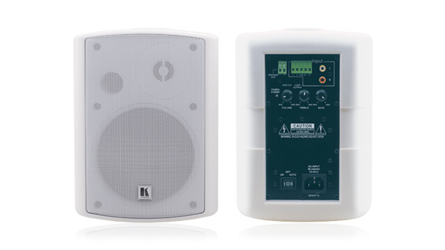 Extensive range of speakers for any audio application
