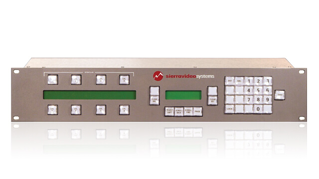 Remote keypad control panel for AV devices