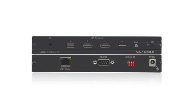 Long- and extended-reach extenders over twisted pair and coax wire connections for digital audio, video, and control signals