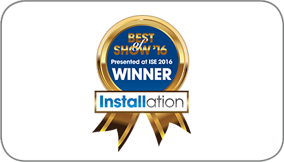 Best of Show from Installation Magazine at ISE 2016