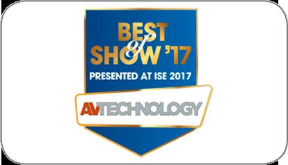 Best Of Show ISE 2017 AV-Technology Award