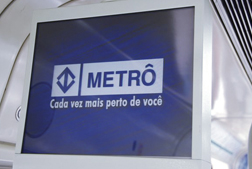 Sào Paulo Metro Digital Signage Project