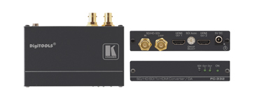 Kramer Introduces  FC-332 3G HD-SDI to HDMI Format Converter with Dual Outputs