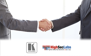 Kramer Signs Distribution Agreement with HighSecLabs