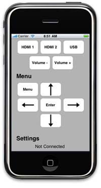 Kramer Announces iPhone® App and PC Based Software for Switching and Menu Control of the VP-729 ProScale™ Digital Scaler/Switcher