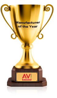 Kramer wins Manufacturer of the Year Award at AV Awards 2013, together with Systems Product of the Year Award for the VP−771