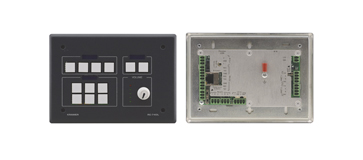 Kramer Introduces the RC−74DL Master Room Controller with Unique LCD Group Text Labels