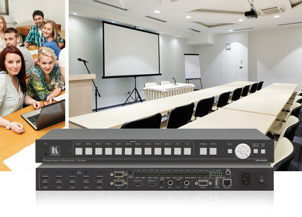 Kramer To Unveil New 12−Input ProScale™ Digital Scaler/Switcher at InfoComm 2015