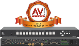 Kramer Introduces the Award Winning VP−771, a 9−Input ProScale™ Presentation Scaling Switcher