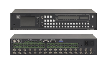 Kramer Introduces the VS-162AVM 16x16 Composite Video & Audio Matrix Switcher
