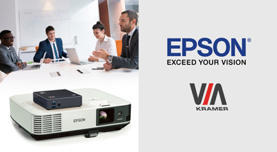 Kramer Forms Alliance with Epson to Offer Innovative Installation Display Solutions