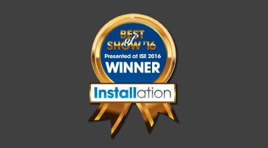 Kramer Network Wins ISE 2016 Best of Show