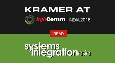 Discover the Latest Kramer Innovations Presented at InfoComm India