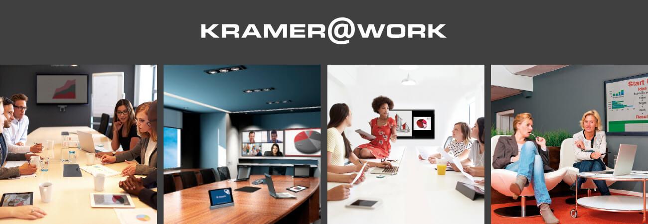 Kramer Introduces Kramer@Work at ISE 2016