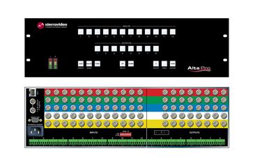 Alta Pro 12x4 RGBHV Router Family