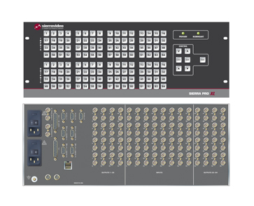 Sierra Pro 64 XL 32x48 RGBHV Router Family