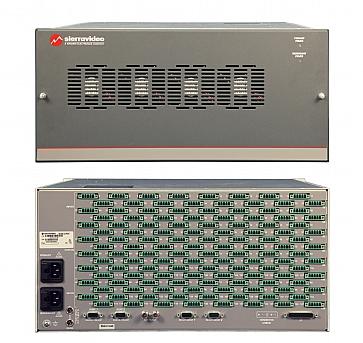 Yosemite 32x32 to 128x128 Modular Analog Audio Router Family