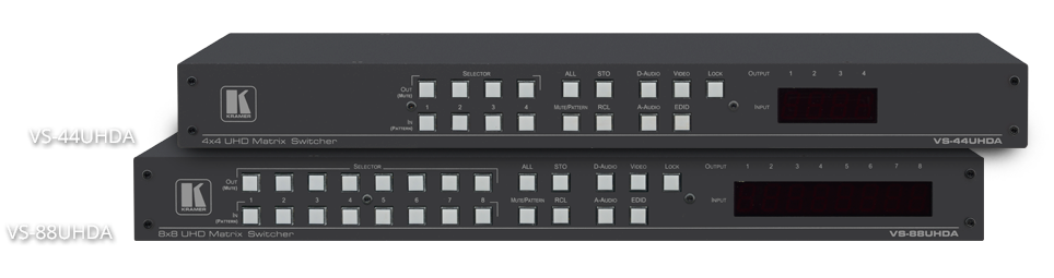 Powerful HDMI Matrix Switchers