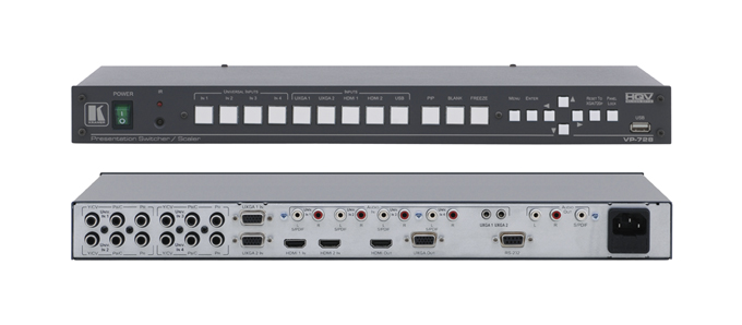 Kramer Introduces New High Performance ProScale™ Presentation Scaler/Switcher with Silicon Optix HQV® Processing