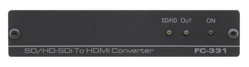 Kramer Announces the  FC-331 3G HD-SDI to HDMI Format Converter