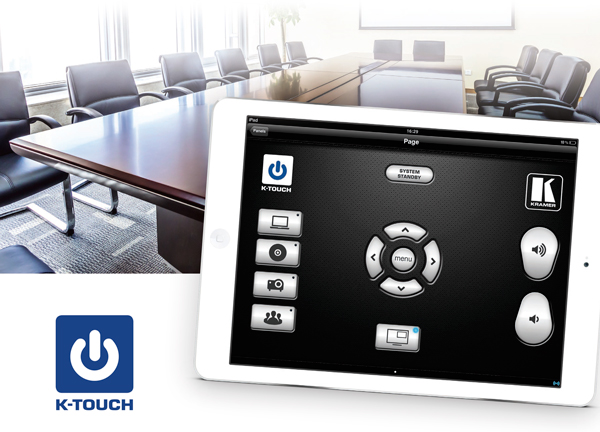 Kramer To Unveil K−Touch 3.0 at InfoComm 2015