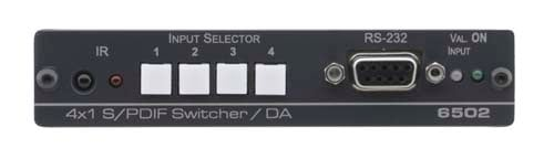 Kramer Announces the 6502 4x1:2 S/PDIF Switcher