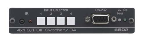 Kramer Announces the 6502 4x1:2 S/PDIF Switcher