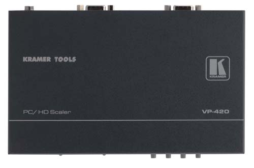Kramer Introduces VP-420 ProScale™ Digital PC/HD Scaler