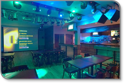 Sports Café in Glasgow Chooses Kramer VS-162V 16x16 Matrix Switchers for Their Flexibility, Easy Set Up and Maintenance.
