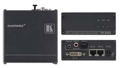 Kramer Introduces the TP-573/TP-574 Compact Transmitter/Receiver for HDMI, RS-232, and IR Signals