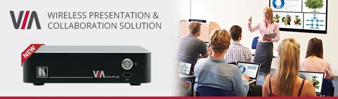 Kramer Unveils New Wireless Education Solution at InfoComm