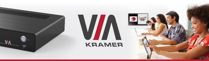"Forbes Names Kramer VIA as ""Top Technology"" to Integrate into Your Business"