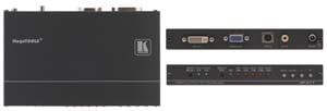 Kramer Introduces the VP-417 Video to Computer Graphics Video, DVI & HDTV ProScale™ Digital Scaler