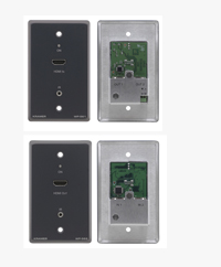 Kramer HDMI Wall Plate Transmitter/Receiver Breaks the Distance Barrier