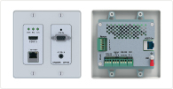 Active wall plate: HDBaseT-enabled