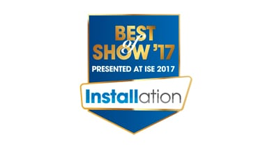Kramer AOCH/60 Wins ISE 2017 Best of Show Award