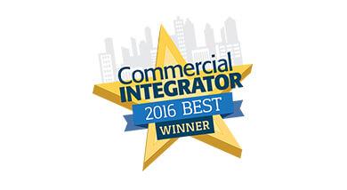 Kramer Control gewinnt Best Commercial Integrator Auszeichnung