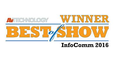 Kramer Control gewinnt InfoComm 2016 Best of Show