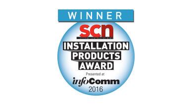 VIA Campus erhält Auszeichnung für InfoComm 2016 SCN Installation Products