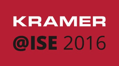 Kramer Goes for Gold at ISE 2016!