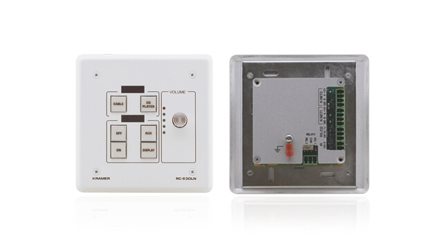 Integrated signal distribution and room control solution for classrooms, training rooms, and presentation rooms
