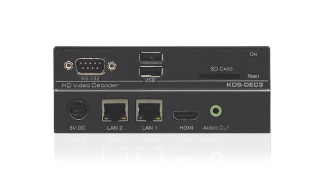 Video signals encoded and decoded by video codec sent over an IP network