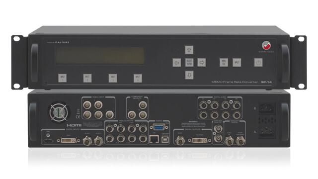Broadcast-grade MEMC frame rate/standard converters